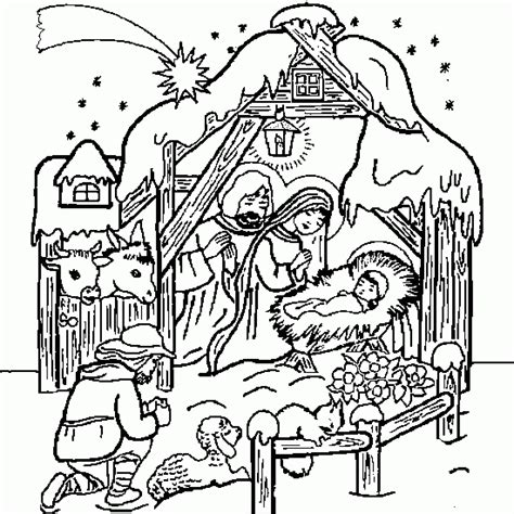 christmas coloring pages jesus manger xmas coloring pages xmas coloring baby jesus nativity