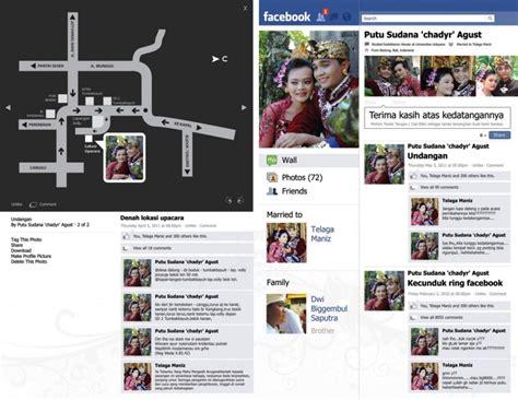 desain undangan instagram contoh undangan facebook c1 7