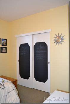 Chalkboard Closet Doors Playroom On Pinterest Closet Doors Playrooms And Storage Beds