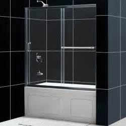 shower door on bathtub infinity plus sliding tub door glass tub door from