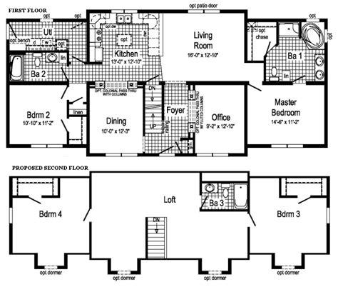 Expandable Floor Plans modular home expandable modular home floor plans