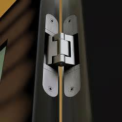 tectus hinge installation photo showing concealed te540