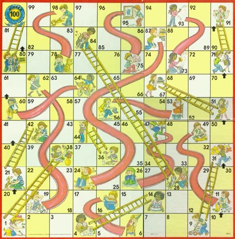 chutes and ladders template is like a of chutes ladders