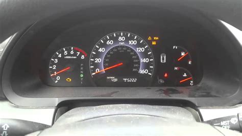 honda odyssey check engine light vsa oil preasure light flashing codes p p youtube
