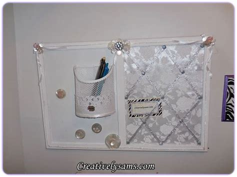 shabby chic memo boardcreatively sam s