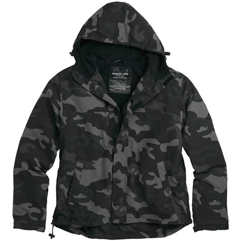 Jaket Jiper Black List Grey 1 surplus windbreaker jacket with zipper black camo other 1st