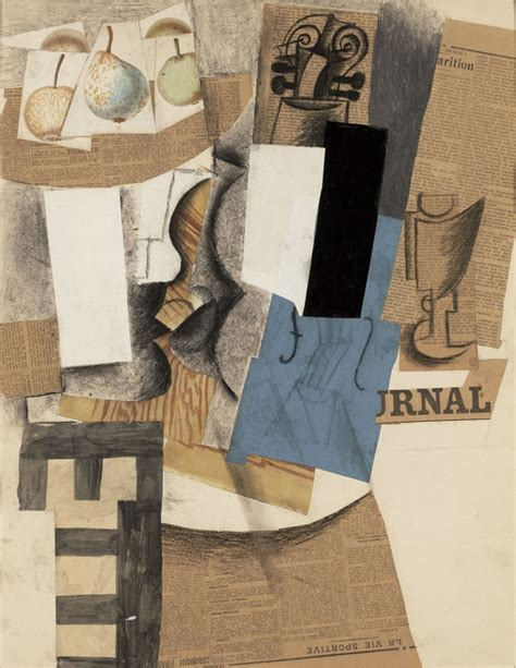 Picasso Synthetischer Kubismus by Appropriation