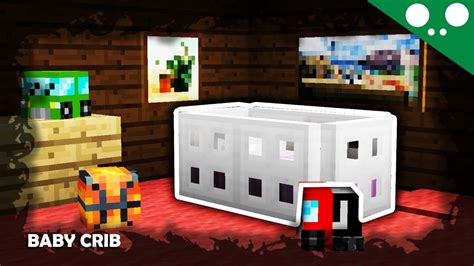 176 ʖ 176 minecraft l how to make a baby crib