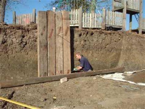 Fixing Sleepers by Kilgraney Sleeper Walls In Progress