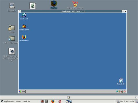 eeerwin windows remote desktop for eeepc