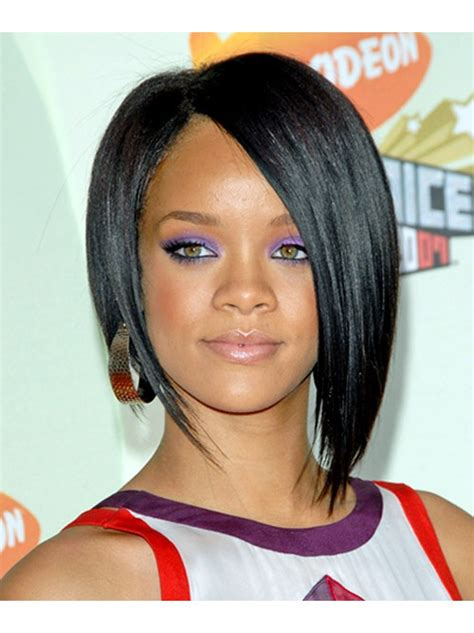 Bobs With Low Side Part Hairstyle | women short hairstyles haircuts photo gallery love