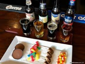 beer before bed a bootiful blend brass tap pairs beer with candy