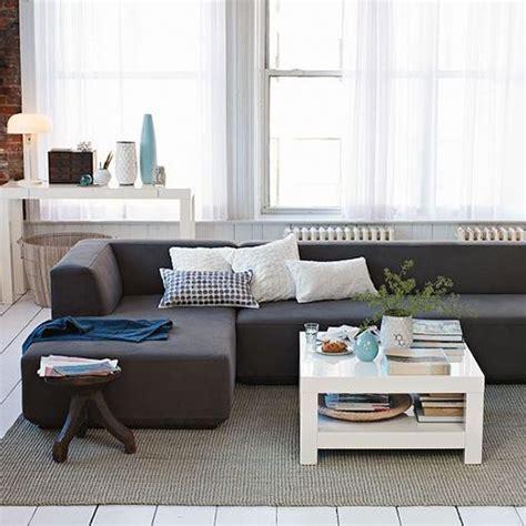 sofas estrechos sofas para salones estrechos interesting saln pequeo con