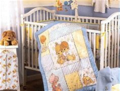 Precious Moments Crib Bedding Set by Precious Moments Vintage Crib Set Baby Bedding 6pc Boy Or Colorblocks Blue Yellow Sunday