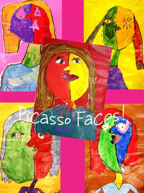 picasso paintings ks1 picasso faces projects for grade space