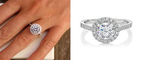 87 wedding rings 1000 dollars shaped halo