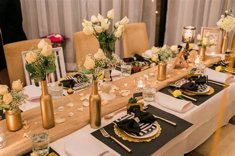 30 inexpensive decorating ideas how to decorate on a budget stef s 30th birthday dinner celebration jonoc productions