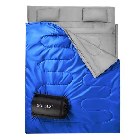 two person pillow goplus 2 person sleeping bag waterproof w 2