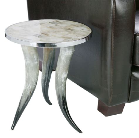 z gallerie end tables horn table look 4 less