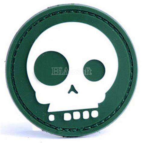 Patch Pacth Rubber 3d Airsoft Gun Rubber Patch Pvc skull 3d pvc velcro patch airsoft rubber morale badge od ptmal1032 od 6 20 top
