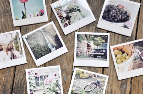 instagram design style how to make instagram polaroid coasters diy crafts