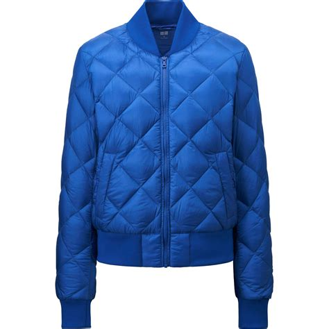 Uniqlo Quilted Jacket by Uniqlo Ultra Light Quilted Blouson In Blue Lyst