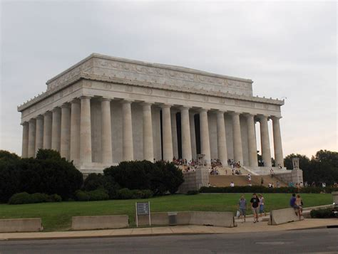 president lincoln memorial washington dc usa district of columbia tourist