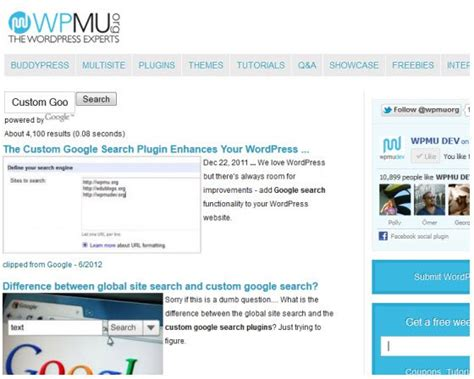 All Themes Plugins From Themezilla wpmu dev custom search plugin v1 2 2