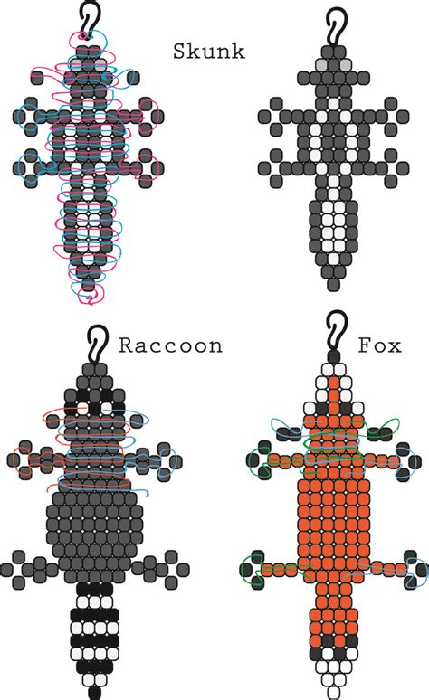 best 25 bead animals ideas on