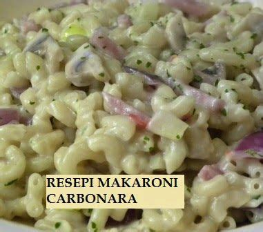 Makaroni Karbonara 17 best images about recipe on nasi goreng