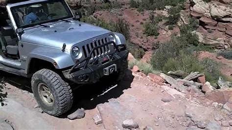 Hill Jeep Elephant Hill Jeep Rubicon Road In