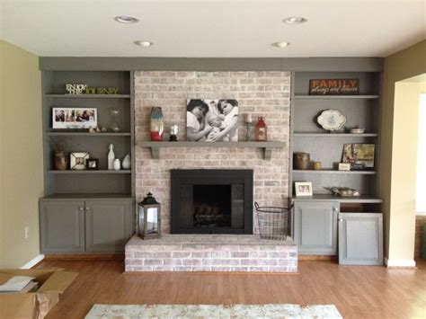 Fireplace Exles by How To Paint A Brick Fireplace Exles Painted Brick