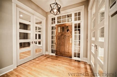 Restoration Hardware Entryway by Mirrored Doors Country Entrance Foyer Veranda Interiors