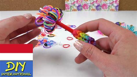 membuat gelang karet sendiri aksesoris pulpen pensil jarum kait dari karet membuat