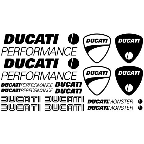 Sticker Ducati 748 by Stickers Ducati Performance Pas Cher