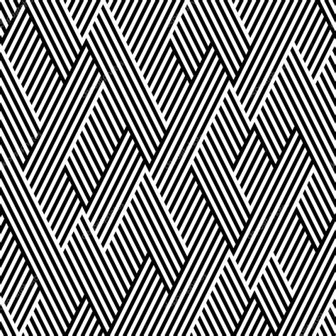 pattern with zig zag lines pattern in zigzag with line black and white stock vector