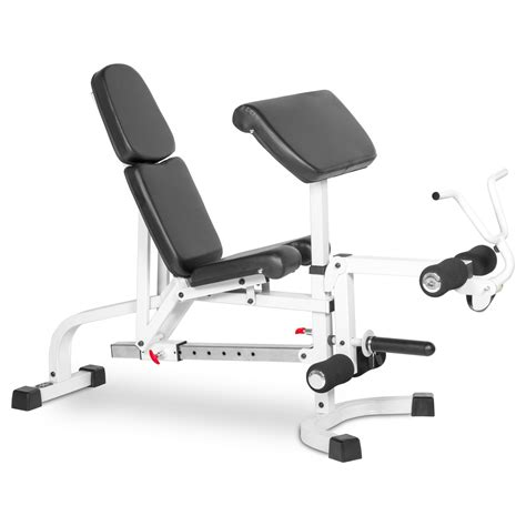 hamstring curl bench xmark fid bench with leg extension and preacher curl xm 4419 fitness factory outlet