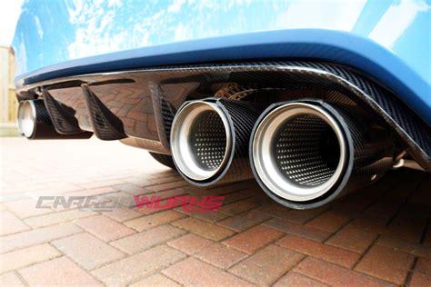Diffuser Bag 4 carbonwurks custom carbon fibrebmw m3 m4 carbon fibre rear