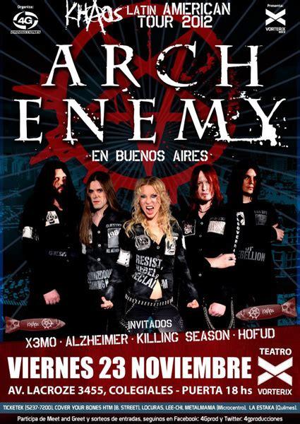 Kaos Arch Enemy Anc 01 arch enemy nuevamente en buenos aires presentando kaos