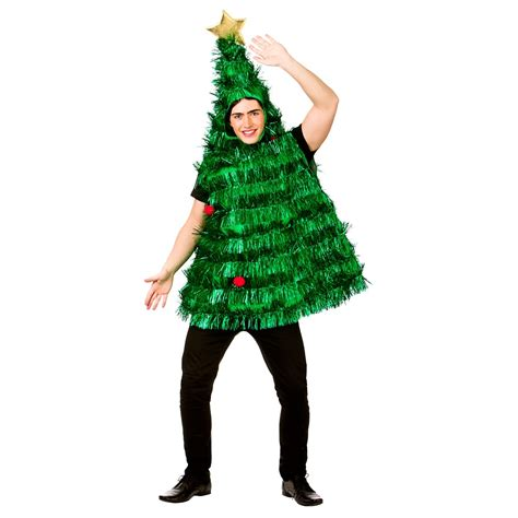 mens christmas fancy dress costume turkey tree cracker