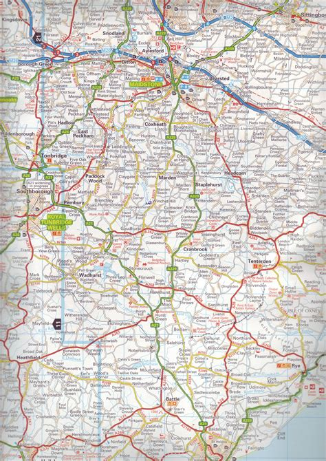 road atlas map road atlases great britain buy
