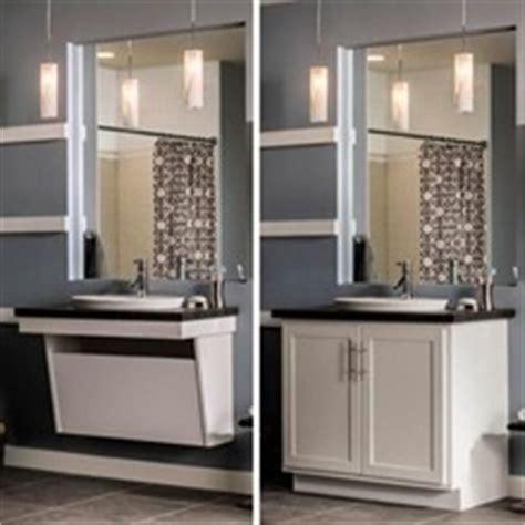 Aristokraft Adaptable Wall Vanity Sink Base Bathroom Aristokraft Bathroom Vanity