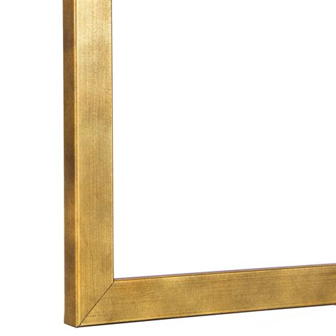 corner frame slim brushed gold frame gallery gold instagram frame i