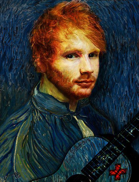 ed sheeran van gogh tattoo vincent van gogh the artist reincarnated as ed sheeran the