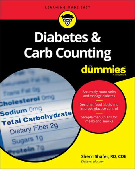 Barnes Noble Classics Diabetes And Carb Counting For Dummies By Sherri Shafer