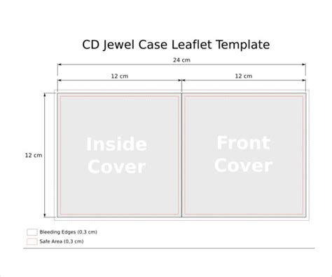 free cd jewel case insert template search results for cd template calendar 2015