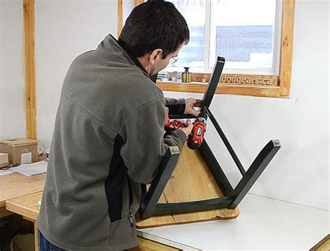 Chair Repair by Repairing Chairs