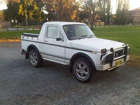 Lada Australia Curbside Classic Lada Niva Truck