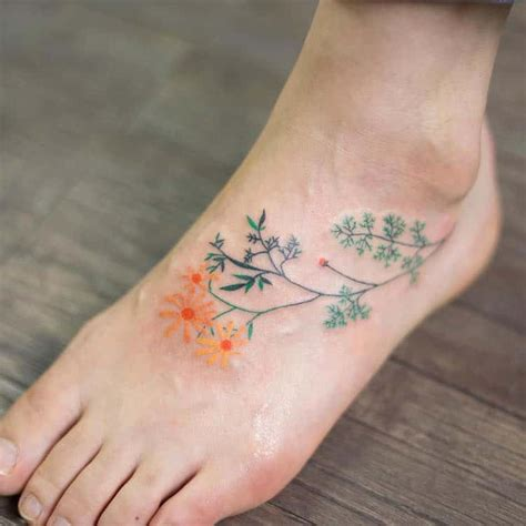 delicate flower tattoo designs delicate tattoos by zihee colorfully adorn the skin with