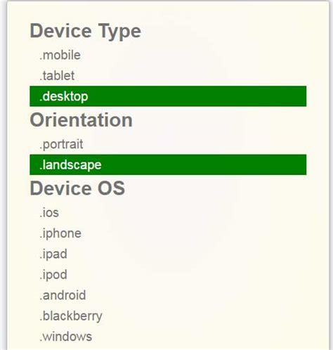 orientation landscape javascript javascript device detection windows android ios